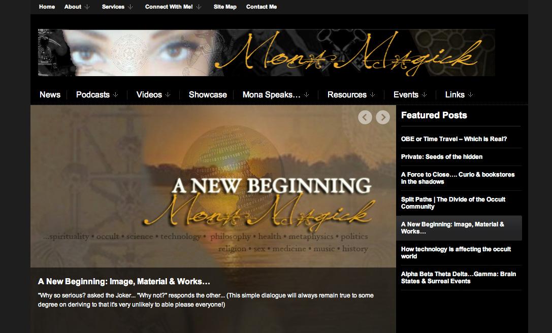 Mona Magick Window