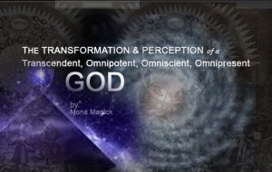 "The Transformation & Perception of a ""GOD"""
